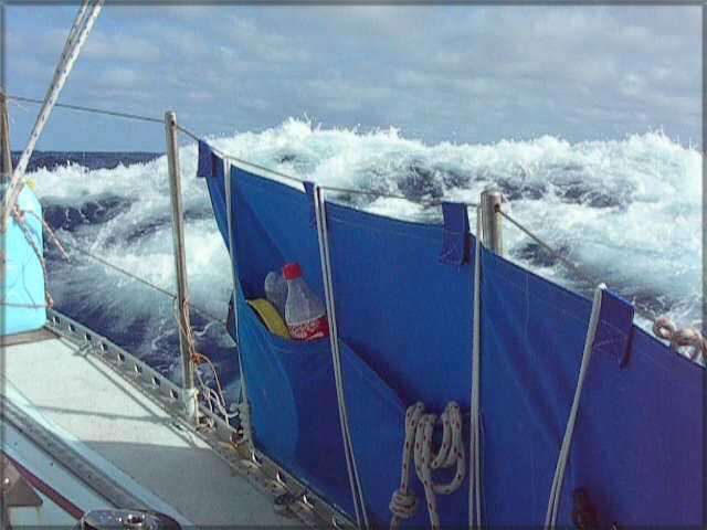 Biggish seas on the way to Vanuatu